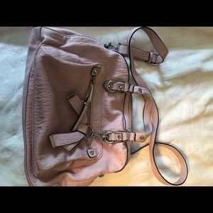 Jessica Simpson light pink bag